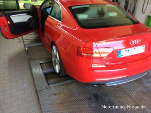 Chiptuning bei einem Audi S5